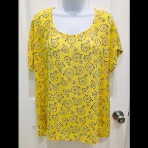 🌺Pleione yellow blouse.